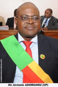 ADOMAHOU Jérémie (UP)
