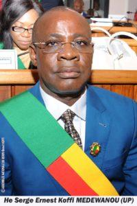 MEDEWANOU Koffi Ernest Serge (UP)