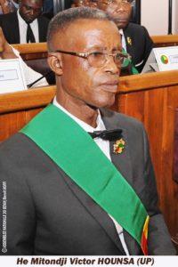 HOUNSA Victor Mitondji (UP)